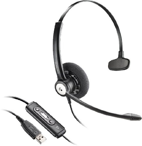 Plantronics 81964-42 Blackwire C610 UC Monoraul USB Corded Headset