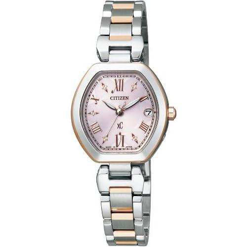[シチズン]CITIZEN 腕時計 xC クロスシー Eco-Drive エコ・ドライブ 電波時計 ES8054-50W レディース