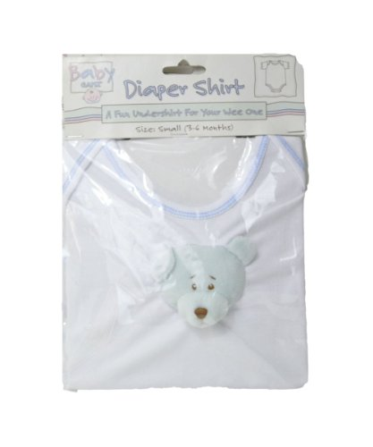 Diaper Shirt - Set of 2 (Small 3-6 Months)