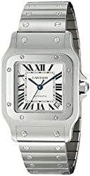 Cartier Men's W20098D6 Santos de Cartier Galbe XL Stainless Steel Automatic Watch