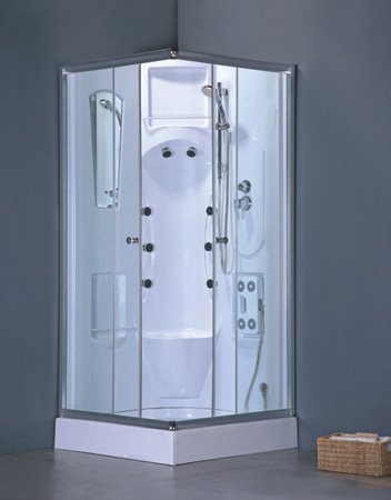 Heirloom-Complete-Shower-Room-TrayTub-Walls-Sliding-Doors-Shower-Head-and-Massagers
