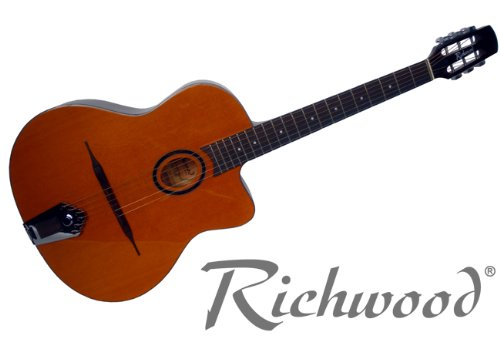 NEW RICHWOOD GYPSY JAZZ MACCAFERRI ACOUSTIC GUITAR