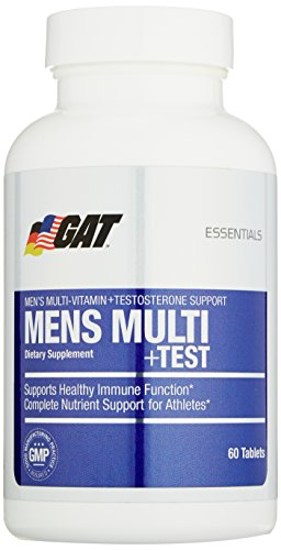 GAT-Mens-Multi-Test-Premium-Multivitamin-and-Complete-Testosterone-Boosting-Support-with-Tribulus-Terristis-60-Tablets30-Servings