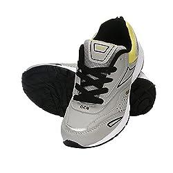 Glacier Grey Sports Shoes-GL_POWER-1_GR_YLW_09