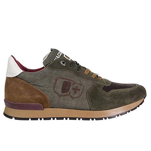 D'Acquasparta scarpa uomo Botticelli U700FG camoscio verde nr.39