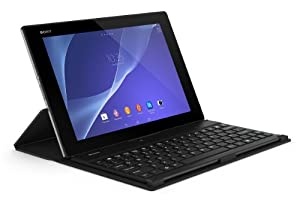 Sony Bluetooth Keyboard with Cover Stand - Black