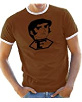 Captain Future Bild Kontrast / Ringer T-Shirt S-XXL div. Farben