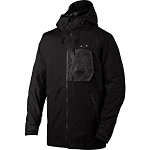 Oakley Men's 453 Gore-Tex Biozone Down Jacket, Jet Black, Large