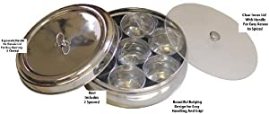 Stainless Steel Masala Dabba Box
