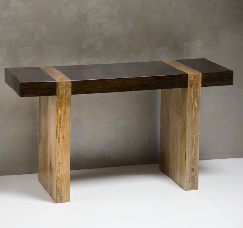 Buy Low Price Berkeley Chunky Wood Modern Rustic Console Sofa Table (B001MQ4IFO)