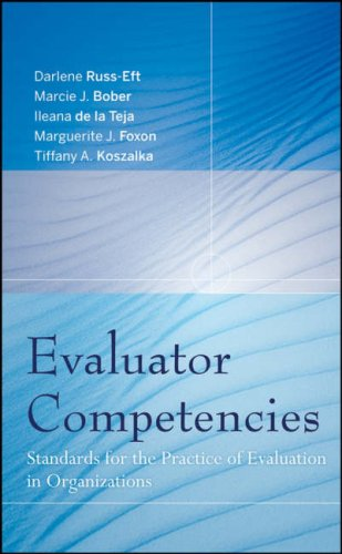 Evaluator Competencies: Standards for the Practice of...