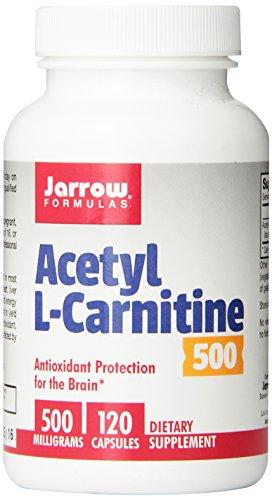 帮助减肥,Jarrow Formulas  乙酰左旋肉碱,500mg *120粒图片