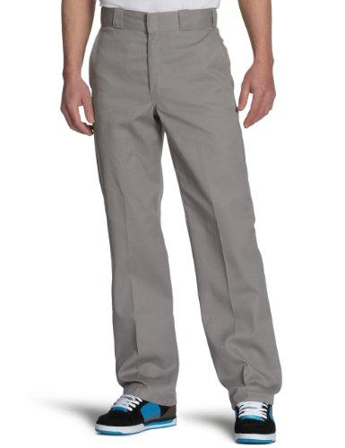 dickies-herren-relaxed-hose-orgnl-874work-pnt-gr-w33-l34-herstellergrosse-33t-grau-silver-grey-sv