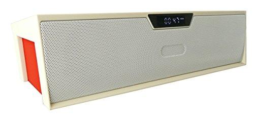 Emartbuy ® Weiß SoundBox PortableWirelessBluetoothLautsprecherMitMikrofonGeeignet Für Mediacom SmartPad 10.1 HD iPro111 / Mediacom SmartPad i10 3G Tablet