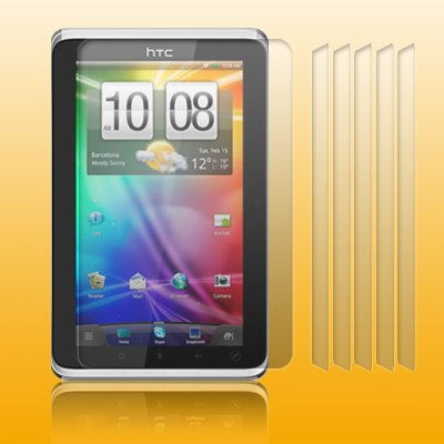 HTC FLYER TABLET / HTC FLYER TABLET WIFI SCREEN PROTECTOR PACK OF 6