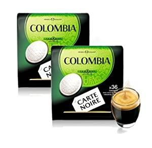 Purchase Carte Noire Senseo Colombia Arabica Roast Coffee (72 Pads) by Carte Noire