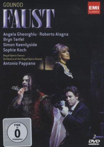 Faust (R.Alagna,A.Gheorghiu.-Pappano) - Charles Gounod - DVD