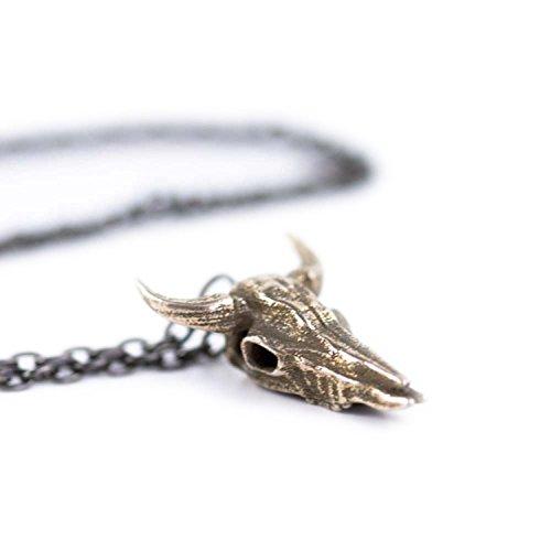 """Rogue e il lupo """", misura: S, motivo: teschio, 5 l, in acciaio INOX, motivo Gothic jewellery 3D"""