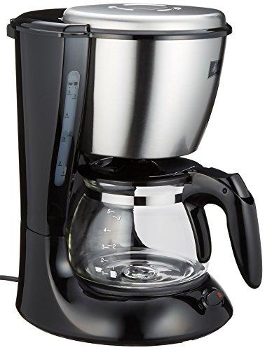 Melitta コーヒーメーカー 【2-5杯】Melitta ステップス ブラック MKM-533/B