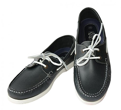 Beverly Originals Scarpe da barca da uomo Men's Casual Sailor, Couleur:marine;Taille:40