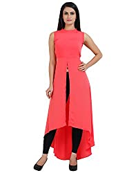 Front Slit Long Dress