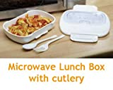 Microwave Lunch Box with Cutlery