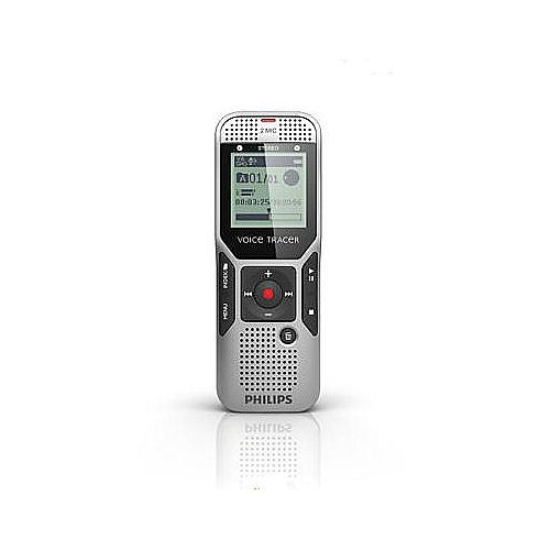 Philips Dvt1000/00 2 Gb Digital Voice Tracer With 2 Built-In Microphones Voice Recorder