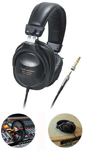 audio-technica スタジオモニター・ステレオヘッドフォン ATH-SX1a