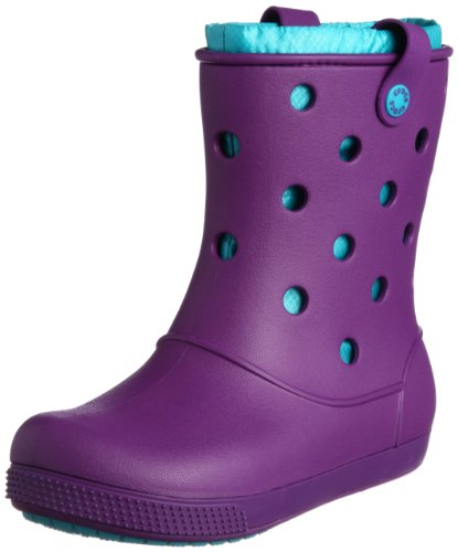 Crocs Women's Crocband Arc Lined Boot Amethyst/Turquoise Ankle Boots 14645-57K-460 6 UK, 39 EU, 8 US