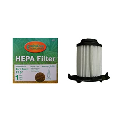 Price Reviews (1) Royal Dirt Devil F16 HEPA w/activated Charcoal Vacuum Filter, Vision, Envision wide glide Uprights Vacuum...