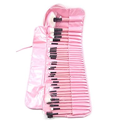 Best Cheap Deal for 32 Pcs Professional Cosmetic Makeup Brush Set Kit with Synthetic Leather Case by Echo - Free 2 Day Shipping Available