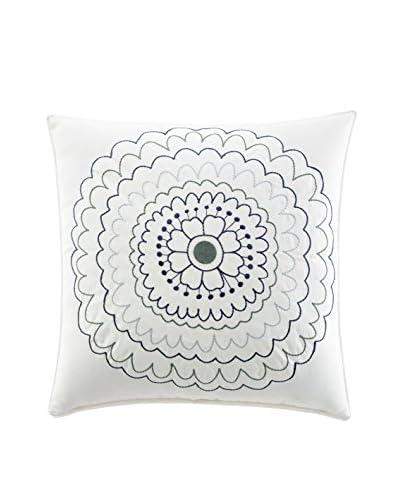 Stone Cottage Avignon Embroidered Decorative Pillow, Blue
