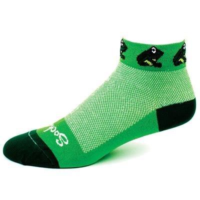 Buy Low Price SockGuy Women's 1in Froggy Cycling/Running Socks (B003WO7Y4Q)