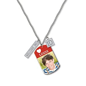 One Direction 16 Tag Necklace - Louis Official 1d Merchandise from Global