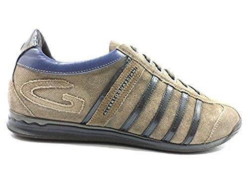 Scarpe uomo ALBERTO GUARDIANI 40 sneakers grigio camoscio ZX768