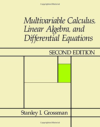 mat114 multivariable calculus and differential equations Math 3113 - multivariable calculus homework #7 - 20080326 due date - 20080402 the symmetric equations of the normal line at the point (x 0,y 0,z 0) are given by.