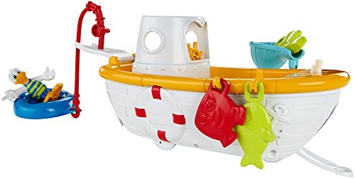 Fisher price disney mickey mouse clubhouse quacky fishin for Fisher price fishing pole