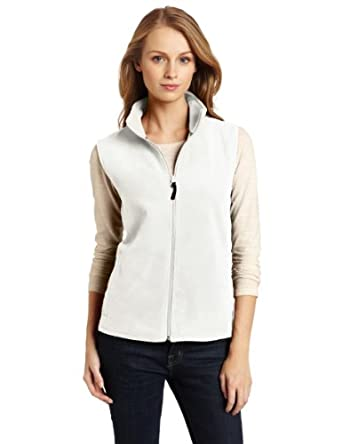 Woolrich Women's Andes Fleece Vest, Off White, Large