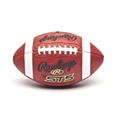 Buy ST5 Soft Touch Leather Footballs-NFHS NCAA BROWN NAIA - OFFICIAL by Rawlings