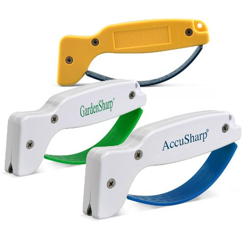 Cheapest Price! AccuSharp 015C Knife, Garden Tool, and Scissor Sharpener Multipack