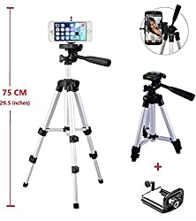 Middle Aluminum Camera Tripod Monopod Mount Holder For iPhone 6 plus/iPhone 6 5S 5C 5G 4S 4G