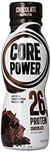 Core Power Natural High-Protein Milk Shake, Chocolate, 11.5-Ounce (Packof 12)