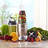 Nutribullet Pro Deluxe Edition 900-Watt Smoothie Juice Blender with Recipe Book NB9-1301P, 13-Piece Set