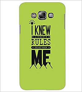 SAMSUNG GALAXY GRAND MAX QUOTE Designer Back Cover Case By PRINTSWAG