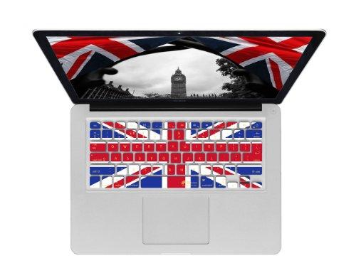 KB Covers ユニオンジャック柄 ISO QWERTY キーボードカバー MacBook Air & Pro用 18210