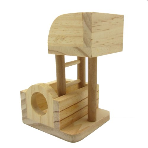 Alfie Lifestyle Small Animal Playground - Wooden Playgym (Toy For Mouse And Dwarf Hamster) front-813617
