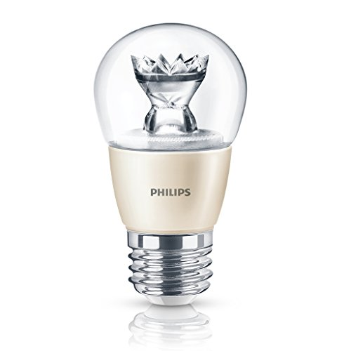 Philips 435453 4.5-Watt Dimmable Led A15 Medium Base Decorative Fan Light Bulb, Soft White