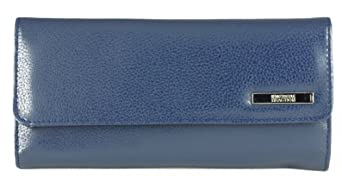 Kenneth Cole Reaction Women's Tri-fold Clutch with Coin Purse Style 102527/800 (Royal Blue)