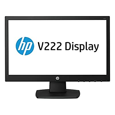 "HP V222 21.5"" LED Widescreen Monitor (M1T37AA Black)"