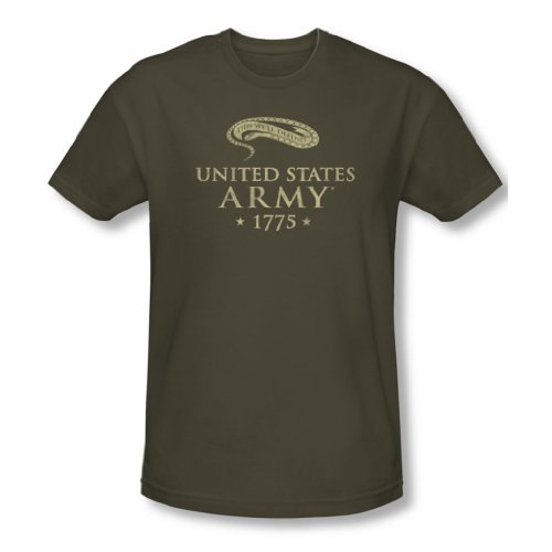Army-We'Ll da Defend-Maglietta a maniche corte, Slim Fit